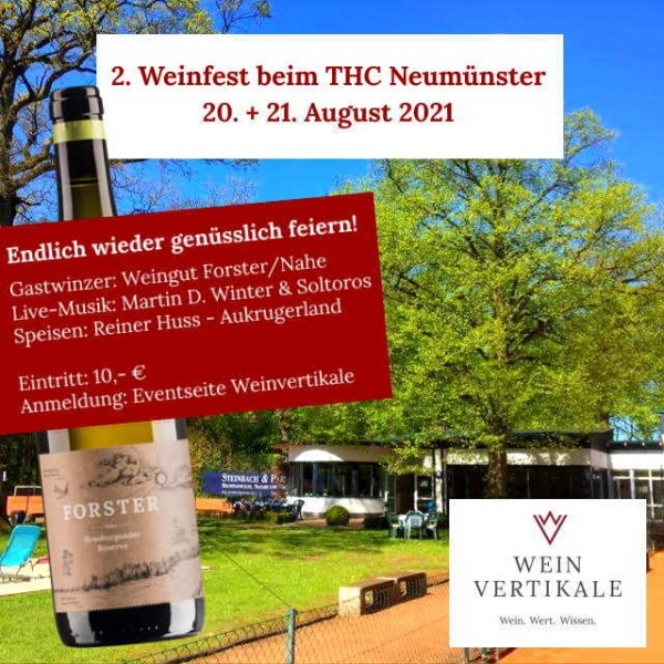 Weinfest - Fr., 20. August 2021