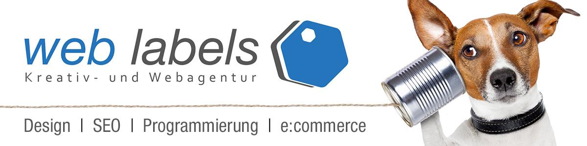 Web Labels - Kreativ- und Webagentur
