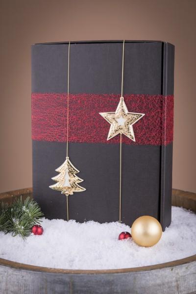 3er Präsentkarton Weihnachten Sterne