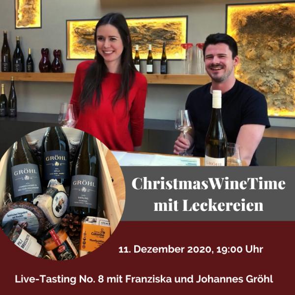 Live-Tasting Online - ChristmasWineTime mit dem Weingut Gröhl
