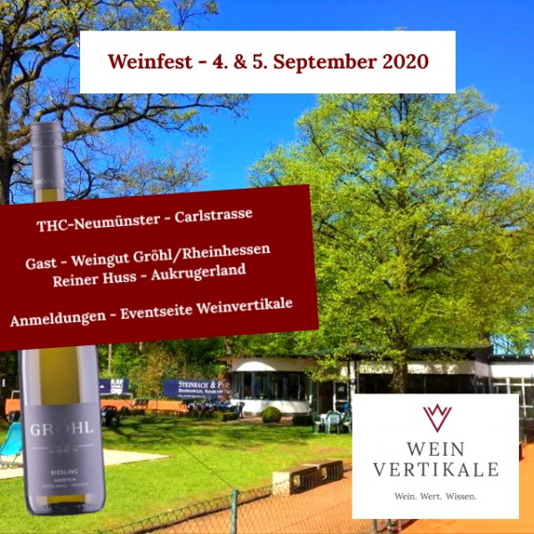 Weinfest - Sa., 5. September 2020